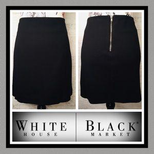 👗WHBM Lined Min-Skirt